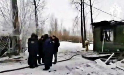 Iincendio in edificio in legno per migranti, 11 morti