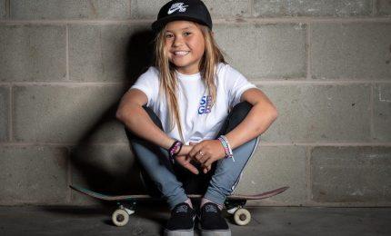 Sky Brown, la undicenne che sogna Tokyo 2020