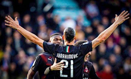 Ibra è tornato, e il Milan sbanca Cagliari