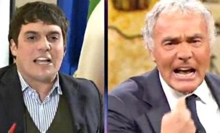 La gaffe di Giletti con Polimeni: lavati la bocca prima di dire Gratteri