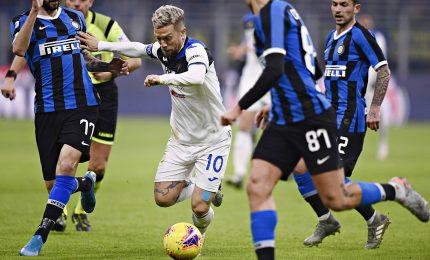 Handanovic salva l'Inter, Atalanta sfiora colpaccio
