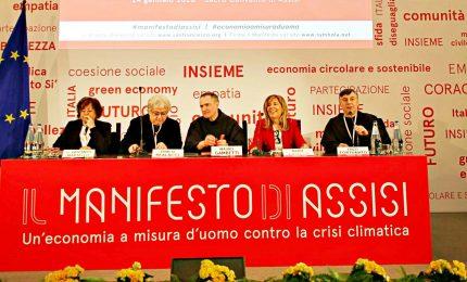 Manifesto Assisi, la grande alleanza contro crisi climatica