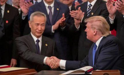 Trump firma intesa con Cina: passo importante per commercio equo