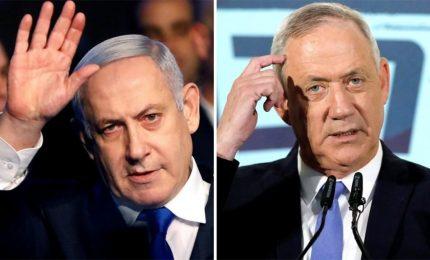 Elezioni Israele, sondaggi: è testa a testa fra Netanyahu e Gantz
