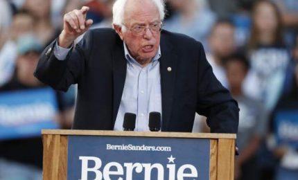 Usa 2020, netta vittoria di Sanders alle primarie in Nevada