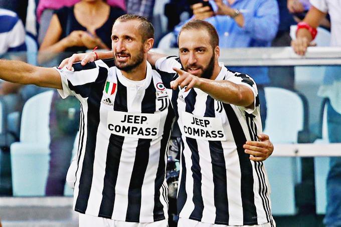 Chiellini, Ramsey e Higuain in dubbio per la finale