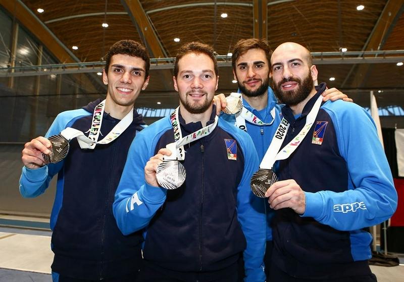 L'Italia di spada maschile seconda a Vancouver, pass per Tokyo