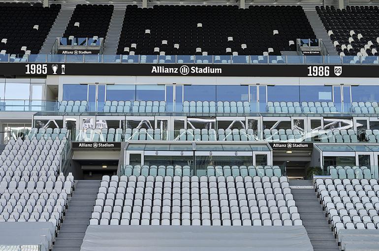 Coronavirus, Juventus-Inter a porte chiuse