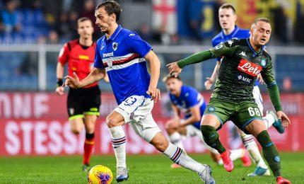Sampdoria-Napoli 2-4, Gattuso continua la rincorsa all'Europa