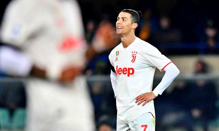 Ronaldo illude i bianconeri, Verona-Juve 2-1