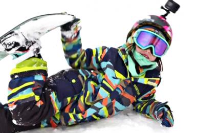 Vasilisa, la bimba prodigo dello snowboard in Russia