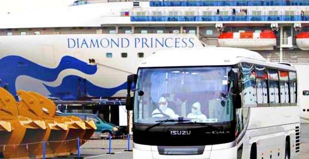 Coronavirus, al via operazione rimpatrio italiani dalla Diamond Princess. Vittime hanno superato quota 2mila