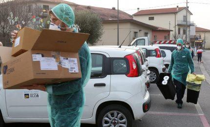 """Caos coronavirus a Vo' Euganeo: """"250 tamponi invece di mille"""""""