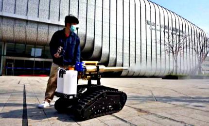 """In Cina arriva """"Thor-1"""", robot per combattere il coronavirus"""