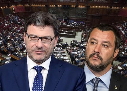 L'Italexit divide la Lega, Salvini contro Giorgetti