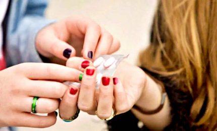 Oltre un terzo degli studenti ha assunto droga almeno una volta