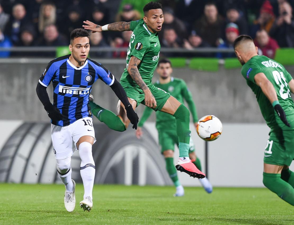 Europa League: Ludogorets-Inter 0-2 nell'andata dei sedicesimi