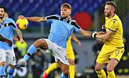 La Lazio si ferma al palo, contro il Verona è 0-0