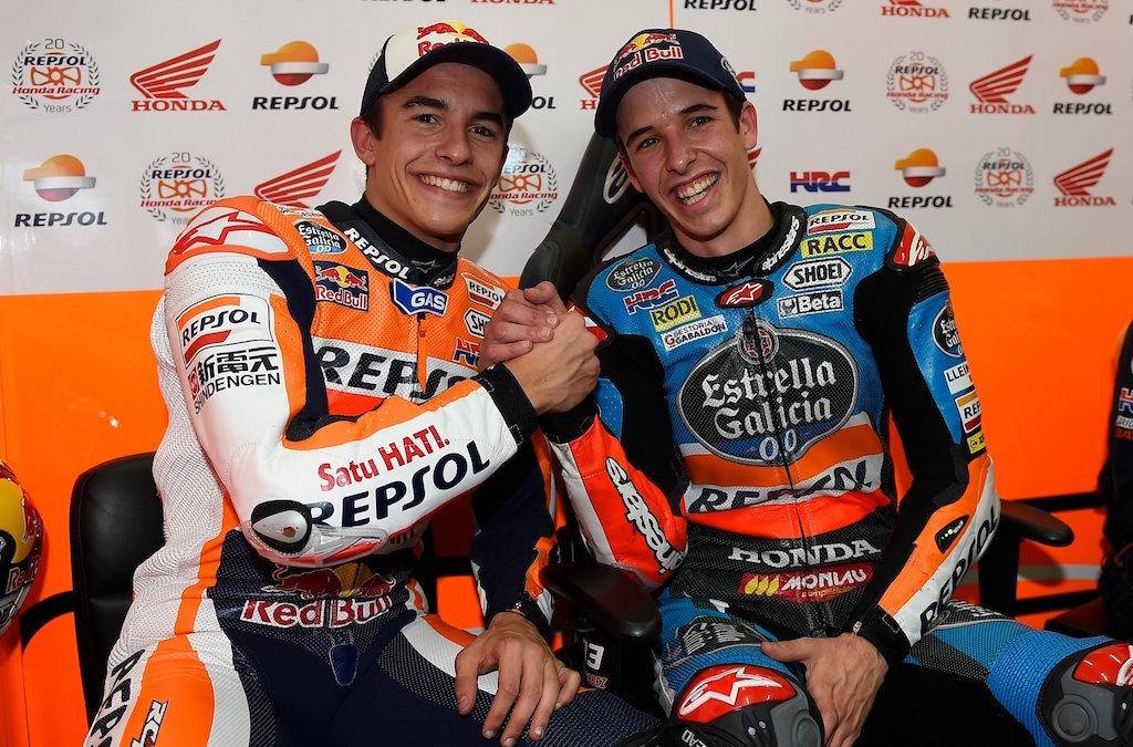La Honda dei fratelli Marquez a caccia del titolo