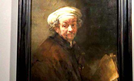 L'Autoritratto di Rembrandt torna a Palazzo Corsini