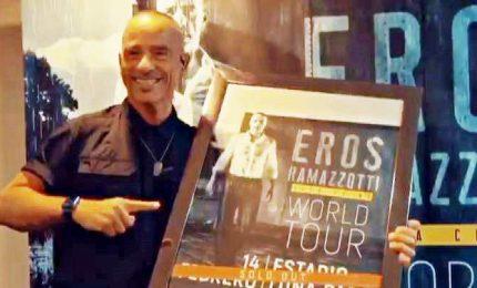 "Ramazzotti, ""Vita ce n'è World Tour"" sbarca in Brasile"