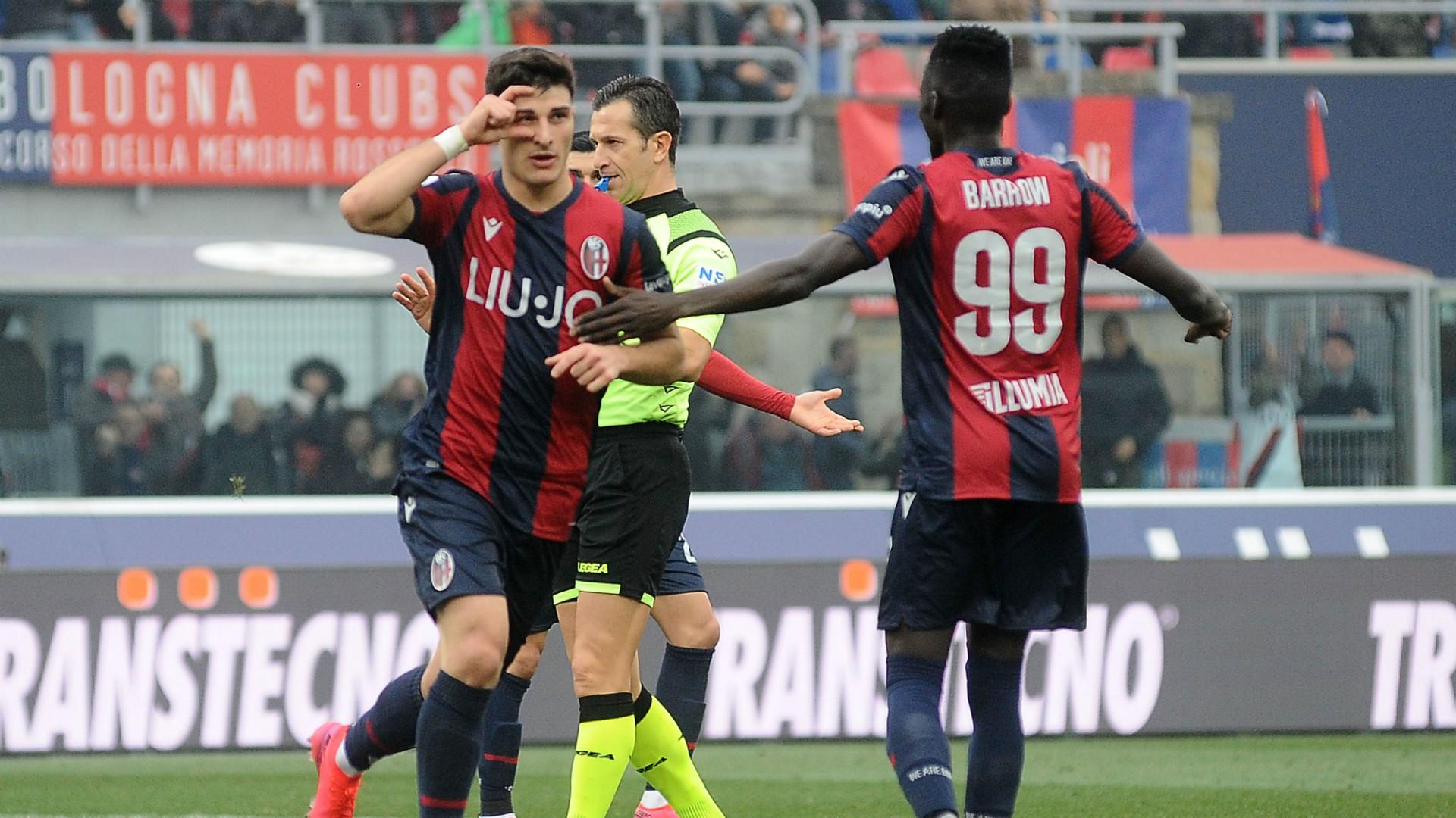 Bologna-Lecce 3-2, Decide Barrow al 93′