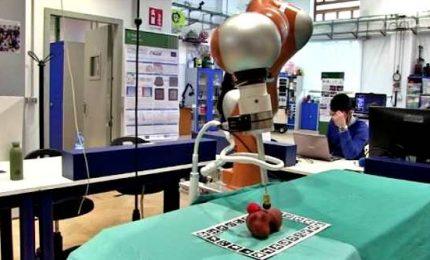 Il robot col senso del tatto: così il chirurgo tocca il paziente