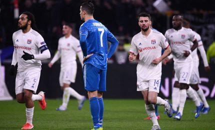 Il Lione supera 1-0 la Juventus, quarti a rischio