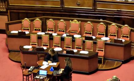 Manovra, oggi in Aula Senato. Fiducia mercoledì in mattinata
