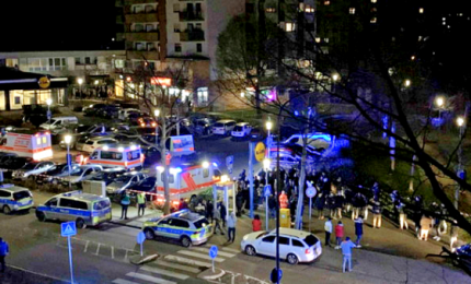 Sparatorie in Germania ad Hanau, 11 morti e 5 feriti in due assalti. Un arresto