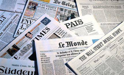 Italia in panico da coronavirus sulla stampa internazionale