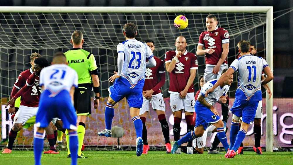 Torino-Sampdoria 1-3, Ramirez ribalta i granata