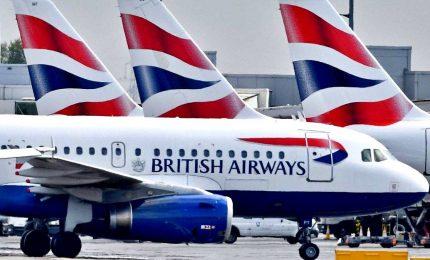 Coronavirus, British Airways cancella tutti i voli per l'Italia