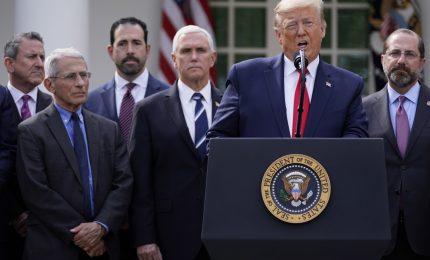 Usa, Trump proclama emergenza per arginare coronavirus