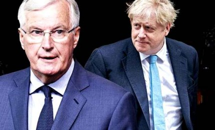 """Barnier: sono """"deluso"""", Londra sia più realista su Brexit"""