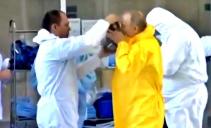 Putin in tuta antivirus, sale l'allarme Coronavirus in Russia. In azione riconoscimento facciale per il lockdown