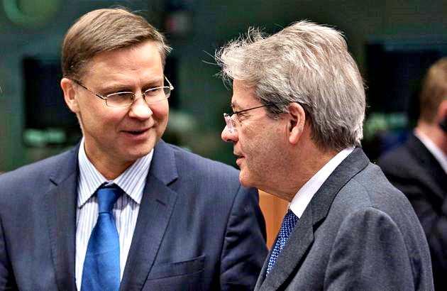 Gentiloni e Dombrovskis: Patto Stabiltà sospeso anche in 2021