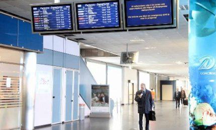"""Aeroporto di Palermo, """"nessuna 'tracciabilità' sui passeggeri"""