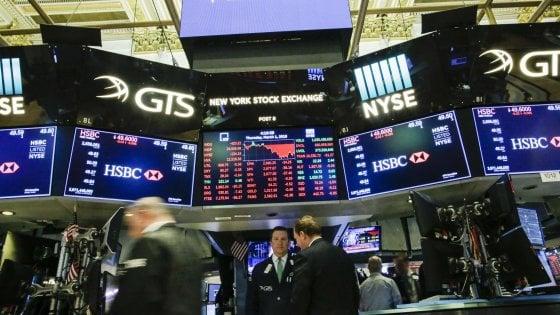 Crollano le Borse Ue nonostante l'intervento di Fed e Bce. Male anche Wall Street