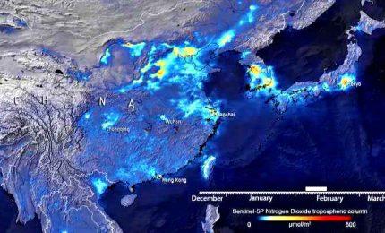 Esa: con il lockdown aria più pulita anche in Cina
