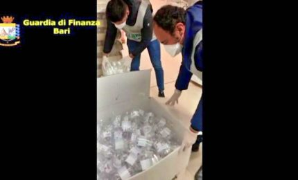 """Operazione """"antivirus"""" a Bari: sequestrati oltre 30mila prodotti"""