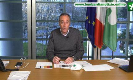 Gallera: in Lombardia 102mila tamponi. Più di tutti