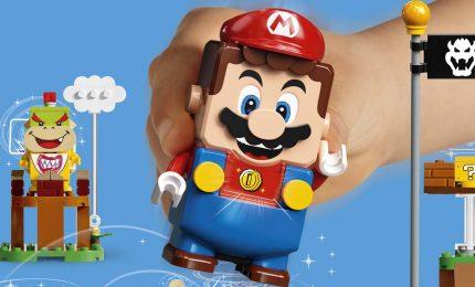 Super Mario entra nel mondo dei mattoncini Lego