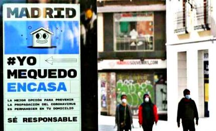 Contagio corre in Spagna: 25mila casi, 1300 morti