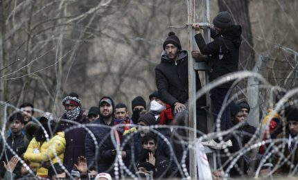 Oltre 135mila migranti passano confine fra Turchia e Grecia
