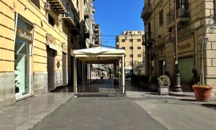 Palermo rispetta il decreto, città incredibilmente vuota
