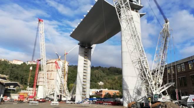 Primo operaio contagiato in cantiere ponte Genova
