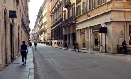 Coronavirus, con le scuole chiuse anche Roma cambia volto