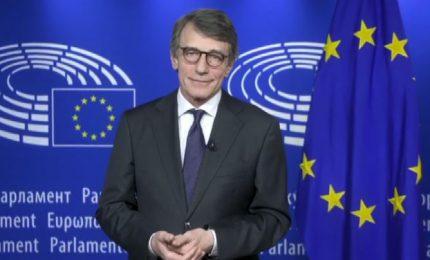 Sassoli: siamo dentro un'emergenza, in Ue servono subito riforme