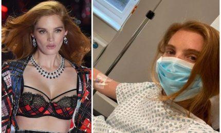Un angelo di Victoria's Secret tra gli ammalati di Covid -19